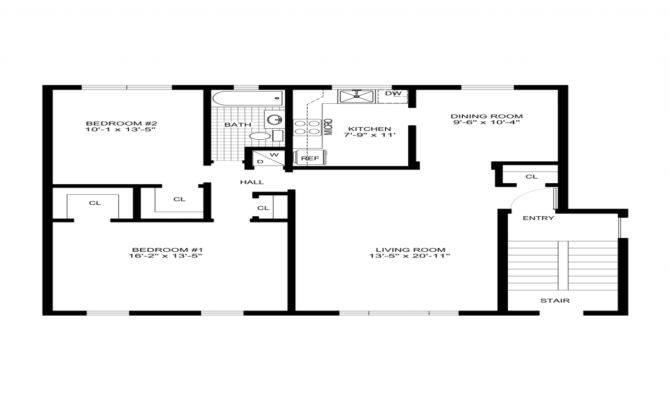 Simple House Designs Floor Plans Modern