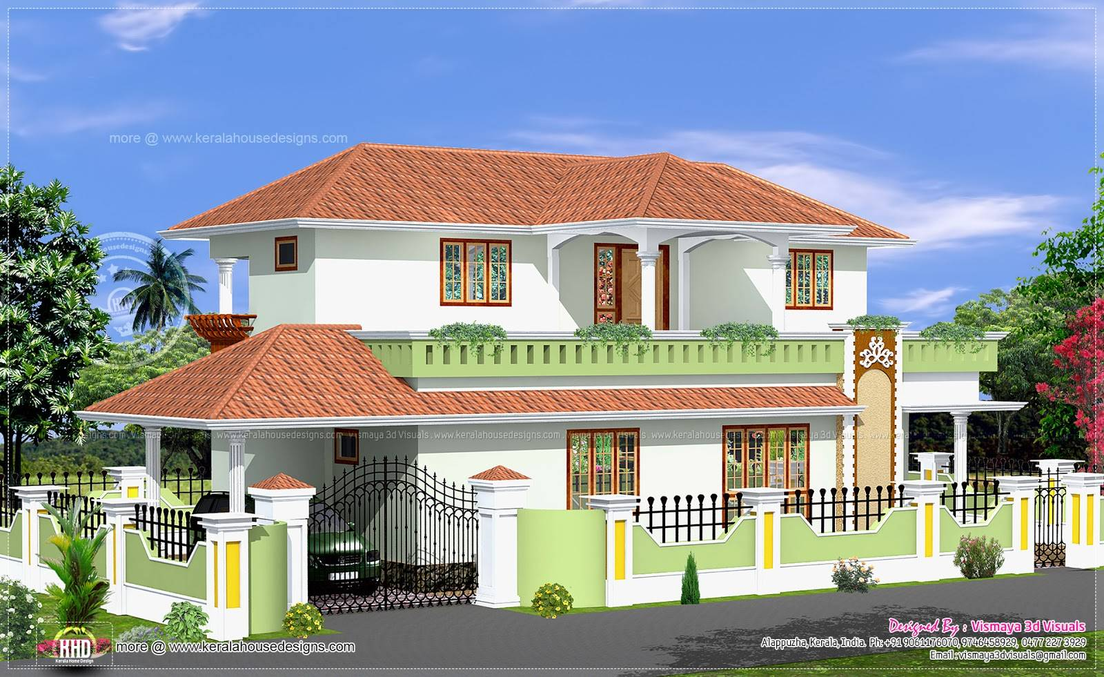 Simple House Designs Kerala Style Home Design