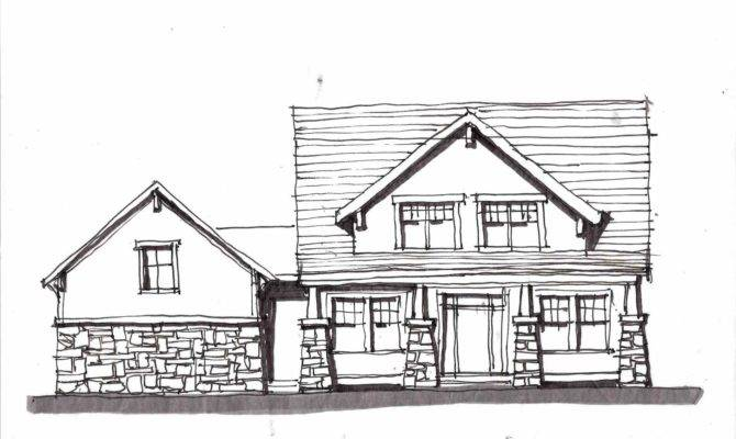 Simple House Sketch Datenlabor Info