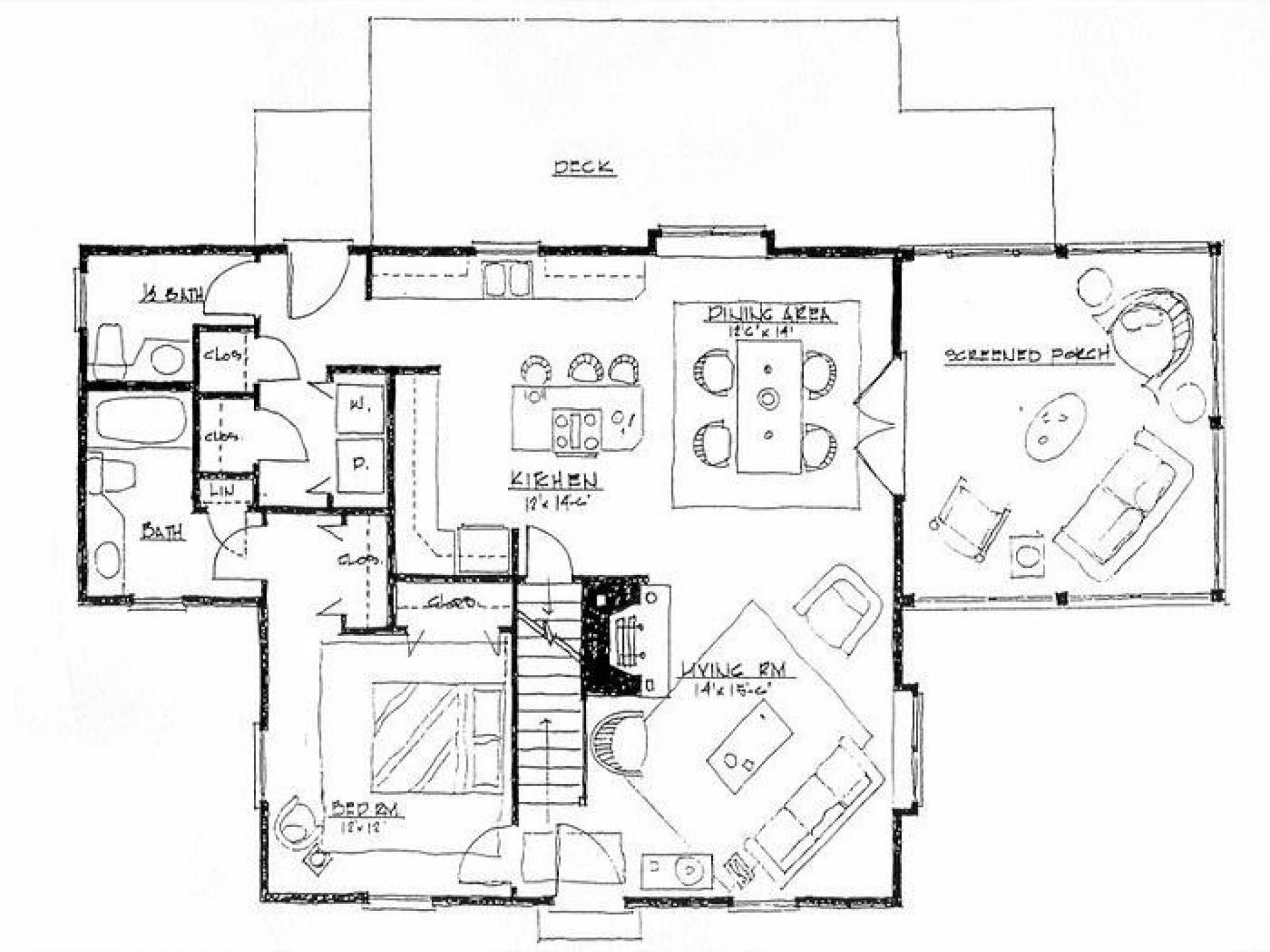Simple House Sketch Plan