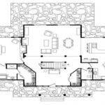 Simple Log Cabin Floor Plans Big Cabins Basic