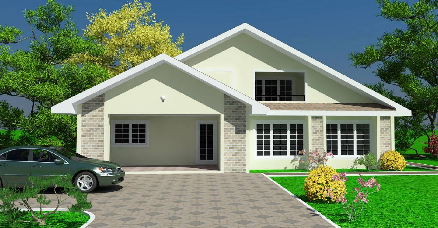 Simple Modern Big New Ghana Homes Plans