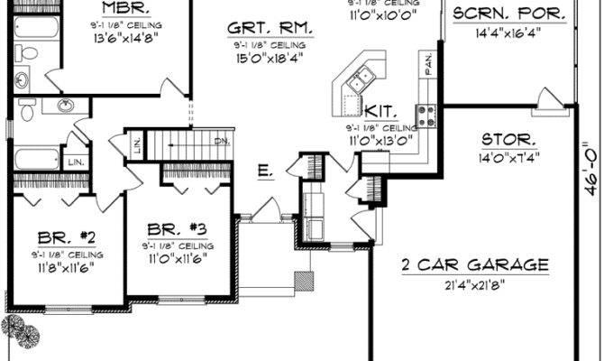 Simple Ranch Floor Plans Open Concept Ideas