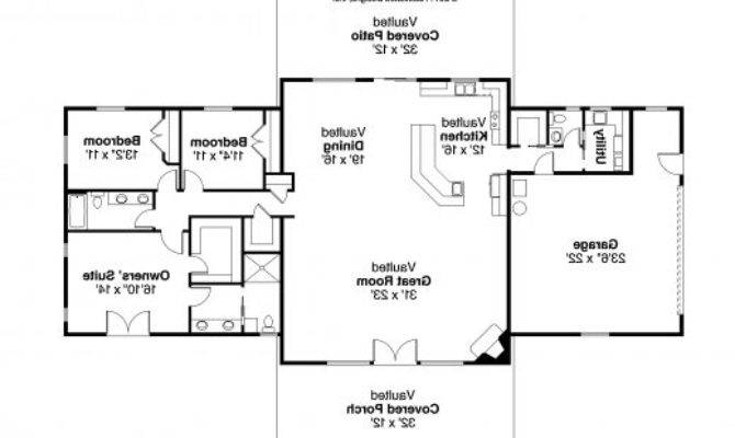 Simple Ranch House Plans Bedroom Floor
