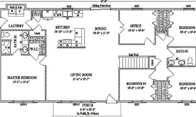 Simple Ranch Style Home Plans Homes Floor