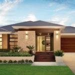 Simple Single Story Modern House Designs