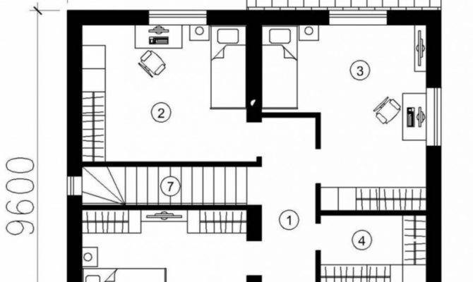 Simple Small House Floor Plans Square Feet Home