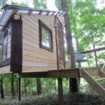 Simple Treehouse Blueprints Design