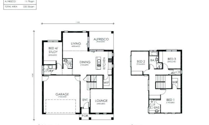 Simple Two Story House Plans Home