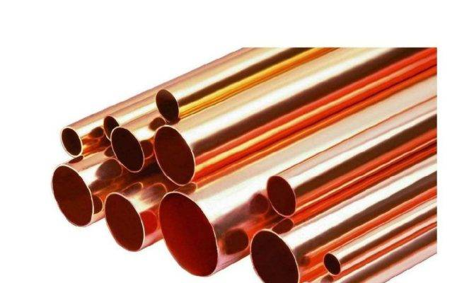 Simple Types Copper Pipes Placement Home Building
