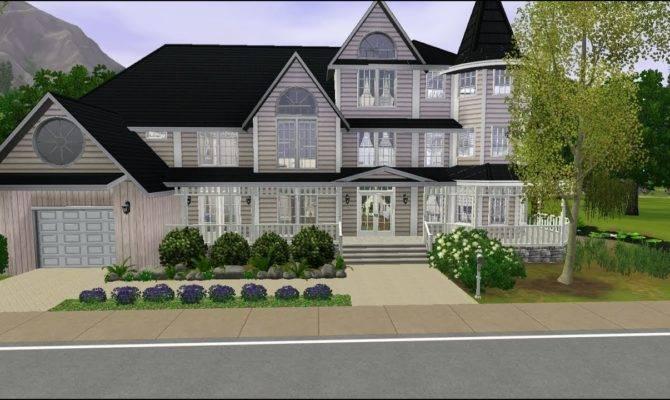 Sims Beautiful House Lake