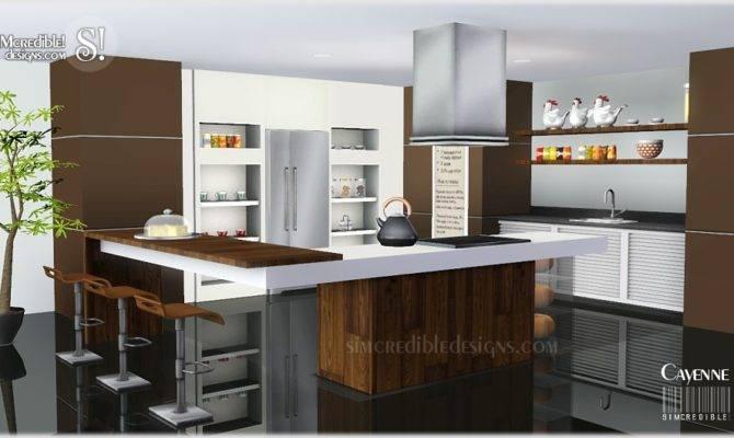 Sims Blog Cayenne Kitchen Set Simcredible Designs