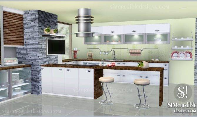 Sims Blog Concordia Kitchen Set Simcredible Designs