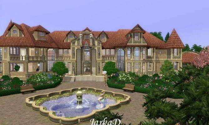 Sims Blog French Mansion Jarkad