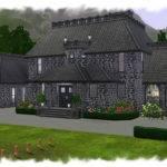 Sims Blog Goth Manor Nengi