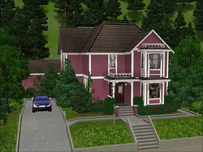 Sims Blog Halliwell Manor Wisteriabrayan