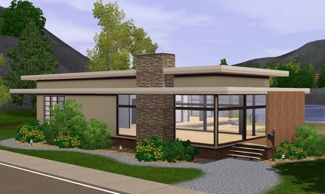 Sims Blog Lana Unfurnished Modern House Gelina