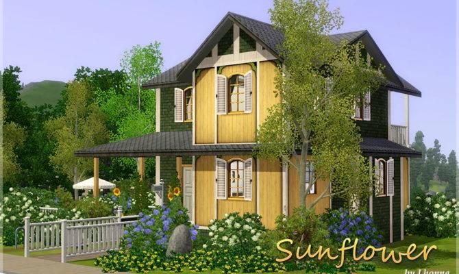 Sims Blog Sunflower Small House Lhonna