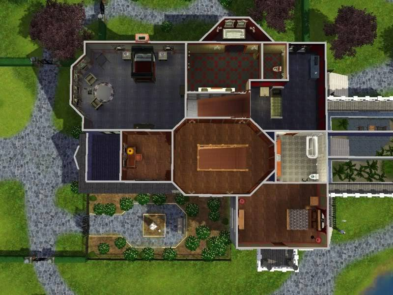 Sims Building Challenge Goths Manor