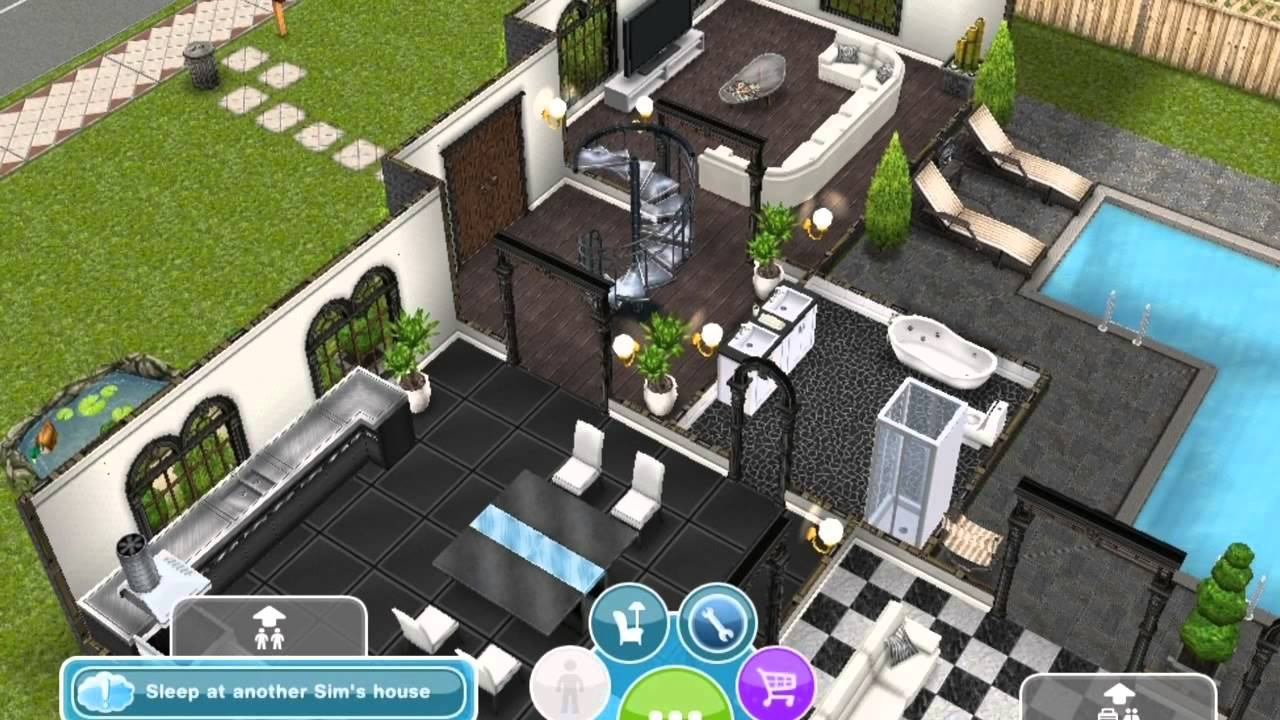 Sims Freeplay Storey House Youtube