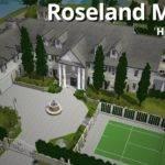 Sims House Building Roseland Manor Caithlinsims Youtube