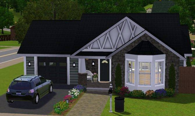 Sims House Building Small Cottage Youtube