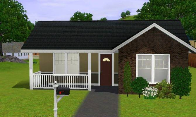 Sims House Building Small Starter Home Youtube