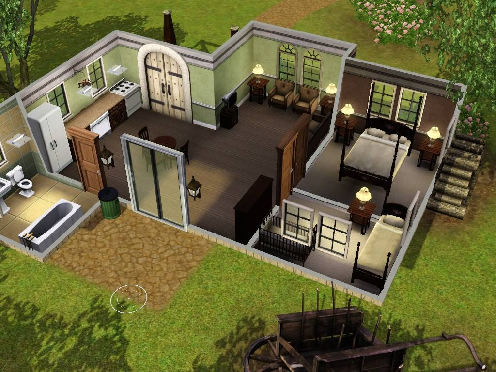 Sims House Designs Floor Plans Home Design Style