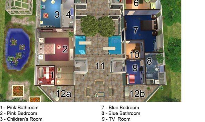 Sims House Designs Floor Plans Mod Elemental Eco