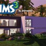 Sims House Designs Modern Oasis Egyptian Mansion Youtube