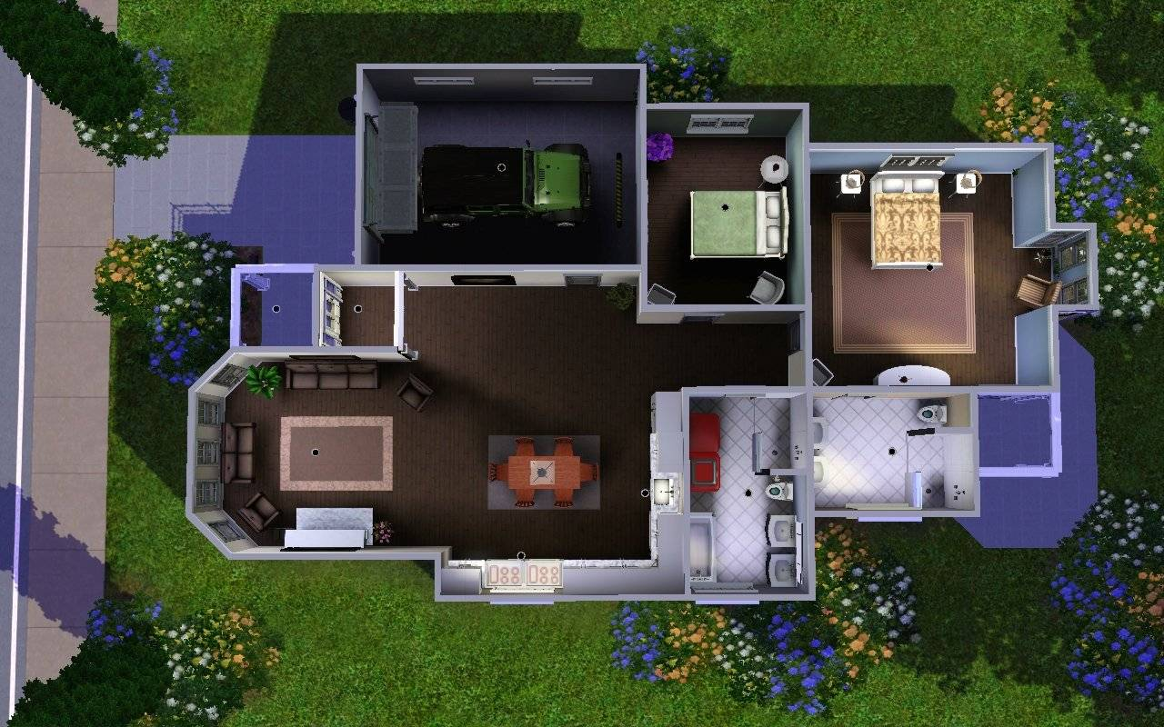 Sims House Floor Plans Mod Sun Song Ave