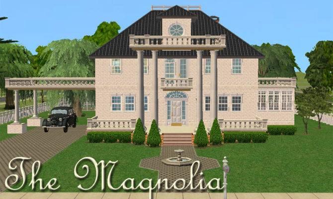 Sims House Floor Plans