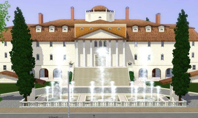 Sims House Ideas Mansion Luxury