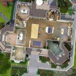 Sims House Plans Mansion Mod Wisteria Hill
