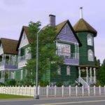 Sims Large Victorian Home Ramborocky Deviantart