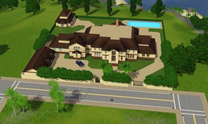 Sims Mansions Homes Rich Reader