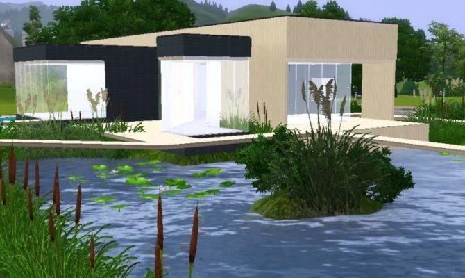 Sims Modern House Blueprints Car Interior Design