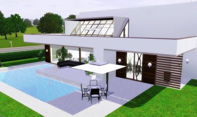 Sims Modern House