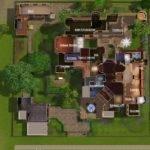 Sims Modern Mansion Floor Plans Queenstown Plan