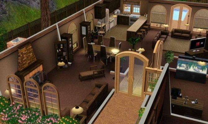 Sims Room Build Ideas Examples Regarding Living