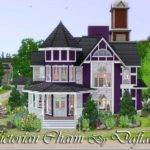 Sims Victorian Houses Downs