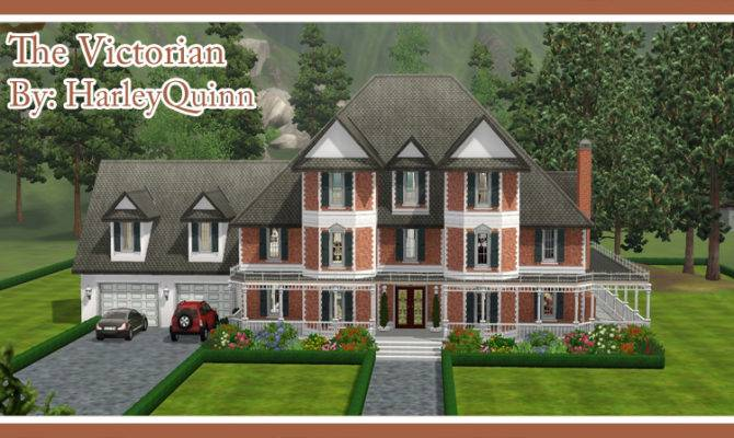 Sims Victorian Houses
