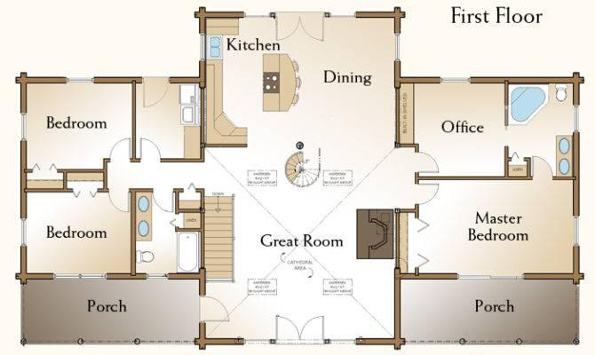 Since Custom Log Homes Home Floor Plans Cabin Kits