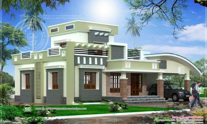 Single Floor Bedroom House Feet Home Kerala