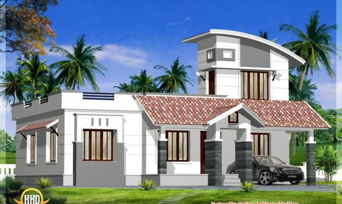 Single Floor Home Design Appliance