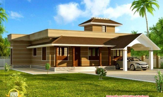 Single Floor Home Design Area