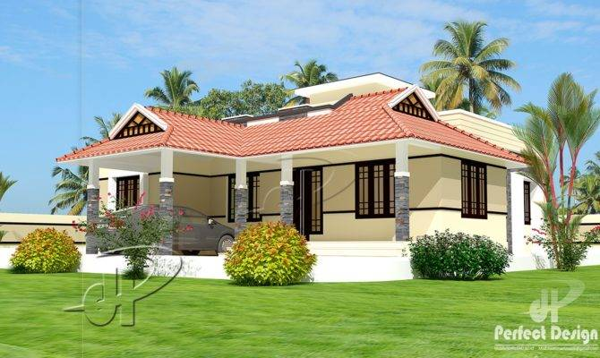 Single Floor Home Kerala Design