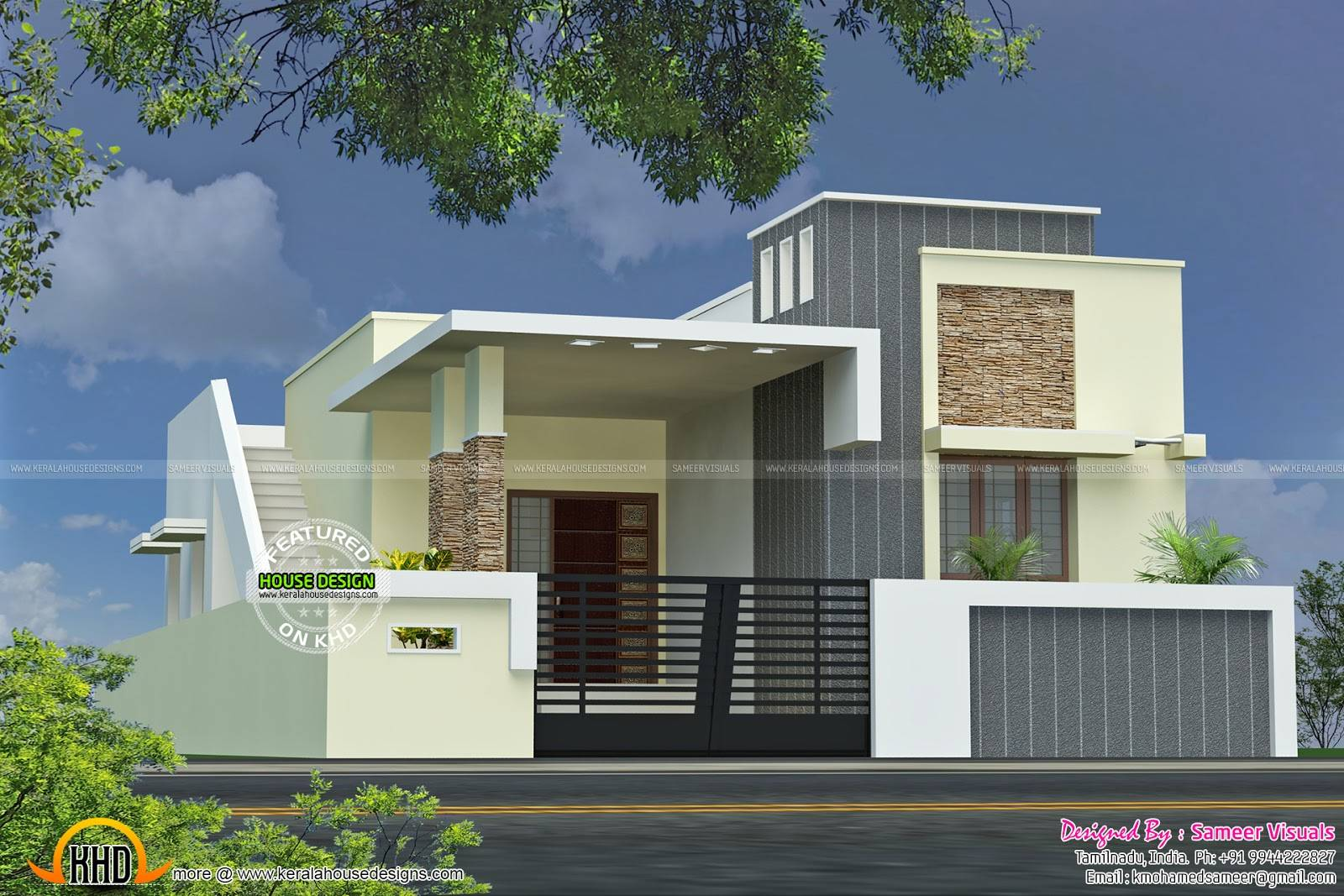 Single Floor House Plan Kerala Home Design Plans