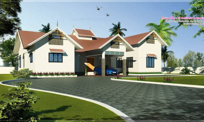 Single Floor Kerala Home Design