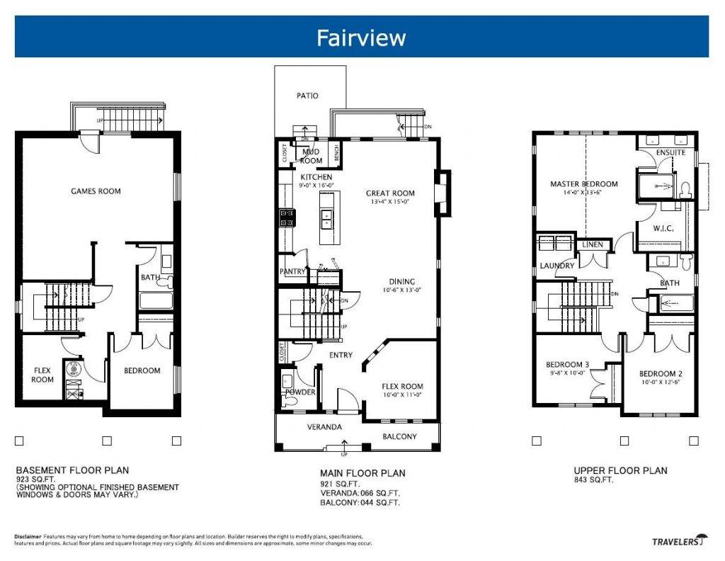 Single Homes Floor Plans House Plan